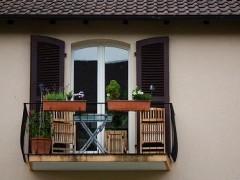 Różnorodne balkony